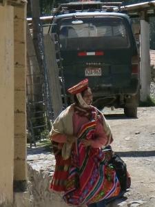 Travel Writer Caroline Cunningham describes life in a Living Inca Musuem