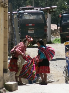 Inca Descendants in Ollantaytambo