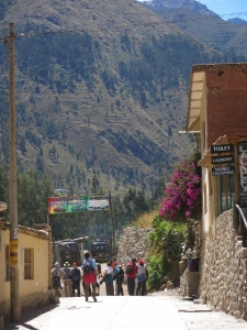 Travel Writer Caroline Cunningham tells a tale of life in a Peruvian Town in The Sacred Valley