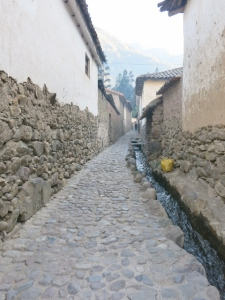 Walking on Cobbled Stones - Life in a Peruvian Town - and the stones gave me lessons in adaptation