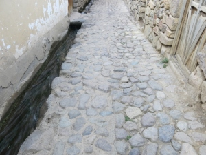 Ollantaytambo's Cobbled Stones - walking a different walk in a Peruvian Town - Caroline Cunningham author of Wild Star Landing tells the tale.