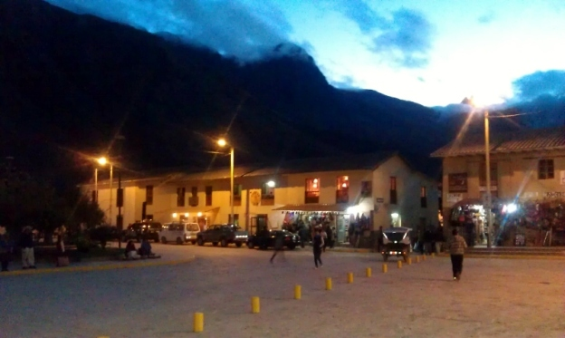 Night Fall in Ollantaytambo Peru