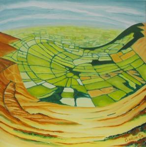 Mount Leinster Mandala - Caroline Cunningham Art