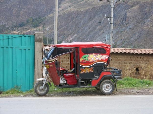 Auto Taxi Peru