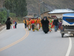 Fiesta Del Carmen In Peru