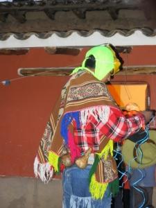 Dancers Costumes Peru Fiesta