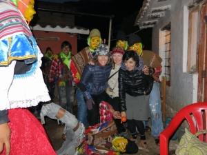 Dancers Costumes Peru