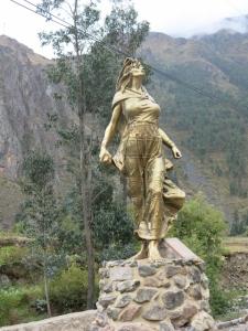 La Nusta Kura Ocllo, Ollantaytambo, Peru