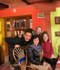 Friendships in Ollantaytambo Peru