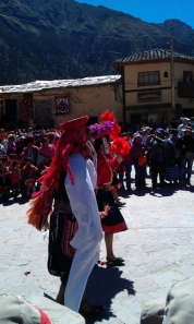 Independence Day Celebrations Ollantaytambo Peru