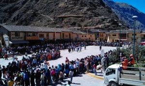 Independence Day Celebrations Peru - Ollantaytambo