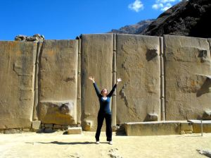 Temple Of The Sun - Fortaleza, Ollantaytambo, Peru