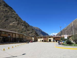 Ollantaytambo Peru - Quiet on a Sunday morning