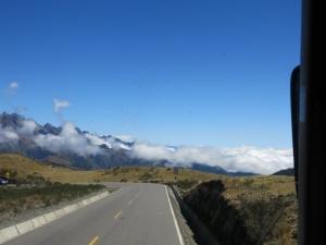 Approacing Abra Malaga Pass - Peru