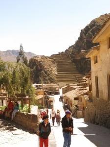 Ollantaytambo Peru with Fortalezza Inca Architecture