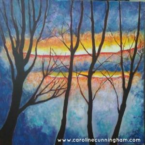 Symphonic Trees - Caroline Cunningham Art