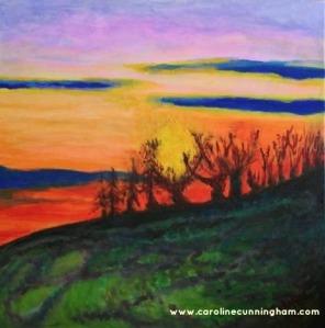 The Evening Tide - Caroline Cunningham Art