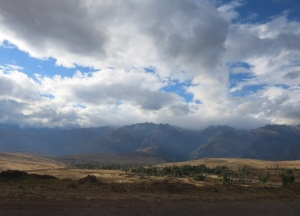 The Road to Cuzco from through The Sacred Valley Peru
