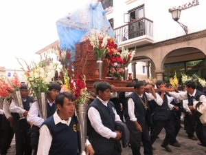 Celebrations in Cuzco Peru