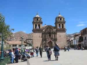 Near San Pedro Market Cuzco Peru