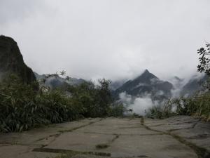 Glimpsing Machu Picchu