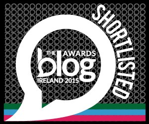 Blog Awards Ireland 2015 Best Blog Article
