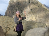 Author Of Wild Star Landing Blog in Ollantaytambo Peru