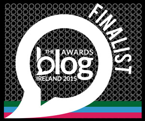 Three Times Finalist In Ireland Blog Awards 2015