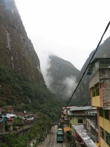 Early Morning Aguas Calientes Peru