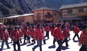 Independance Day Ollantaytambo Peru