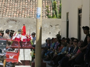 Celebrating Saint of Police Peru