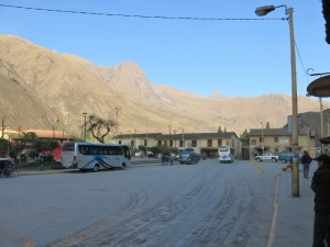 Early Morning Ollantaytambo Peru