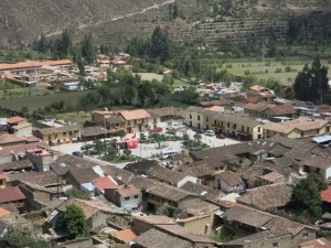 Plaza De Armas Ollantaytambo Peru