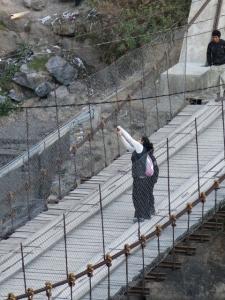 Inca Bridge - Ollantaytambo Peru