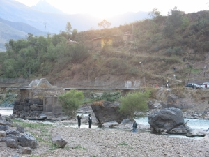 Fishing - Ollantaytambo Peru