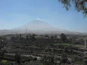 Arequipa Peru Volcano