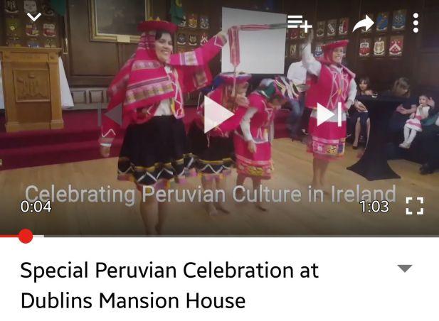 Peru Mansion House You Tube Clip